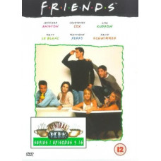 Friends - Series 1 - Episodes 9-16 [DVD] [1995] - Pre-Owned